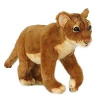 Hansa Standing Lion Cub Plush Toy