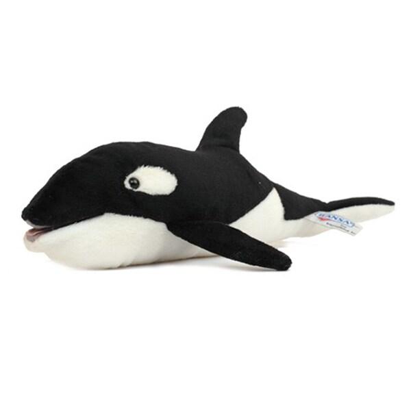 Hansa Orca Plush Toy