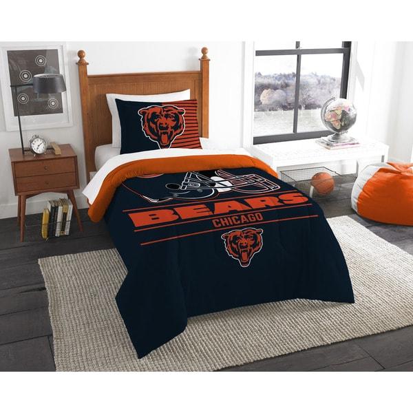 The Northwest Company NFL Chicago Bears Draft Twin 2-piece Comforter Set