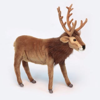 Hansa Brown Reindeer Plush Toy