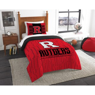 The Northwest Company COL 862 Rutgers Modern Take 2-piece Twin Comforter Set
