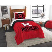 The Northwest Company COL 862 Rutgers Modern Take 2-piece Twin Comforter Set
