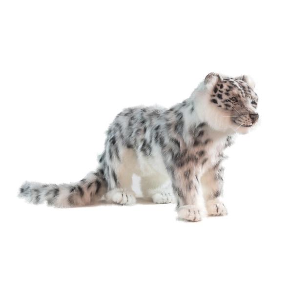 Hansa Standing Snow Leopard Plush Toy