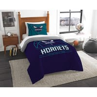 The Northwest Company NBA Charlotte Hornets Reverse Slam Twin 2-piece Comforter Set