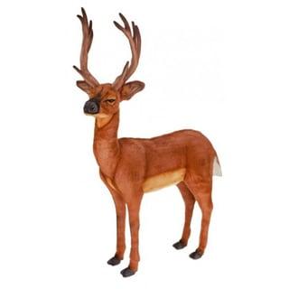 Hansa White Tailed Deer Plush Toy