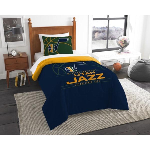 The Northwest Company NBA Utah Jazz Reverse Slam Twin 2-piece Comforter Set