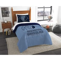 The Northwest Company NBA Memphis Grizzlies Reverse Slam Blue Twin 2-piece Comforter Set