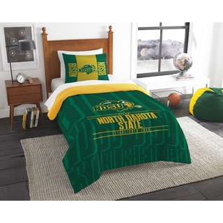 The Northwest Company COL 862 North Dakota State Modern Take Twin 2-peice Comforter Set