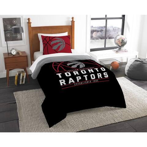 The Northwest Company NBA Toronto Raptors Reverse Slam Twin 2-piece Comforter Set - Multi
