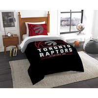The Northwest Company NBA Toronto Raptors Reverse Slam Twin 2-piece Comforter Set