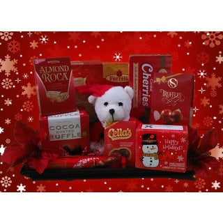 Happy Holidays Deluxe Gift Tray