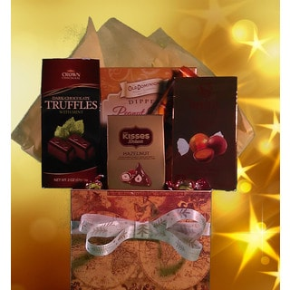 Gourmet Chocolate Assortment Gift Basket