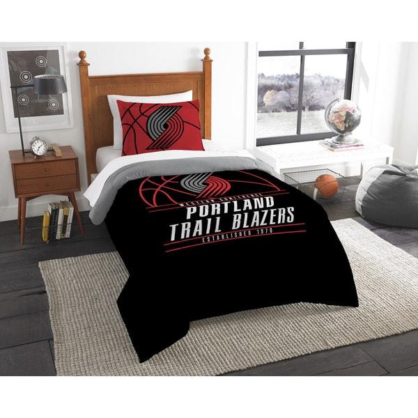 The Northwest Company NBA Portland Trailblazers Reverse Slam Twin 2-piece Comforter Set