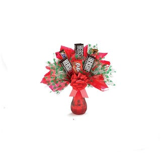 Hershey's and More Chocolate Christmas Gift Bouquet