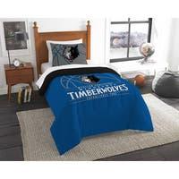 The Northwest Company NBA Minnesota Timberwolves Reverse Slam Twin 2-piece Comforter Set