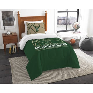 The Northwest Company NBA Milwaukee Bucks Reverse Slam Twin 2-piece Comforter Set