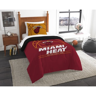 NBA Miami Heat Reverse Slam Twin 2-piece Comforter Set