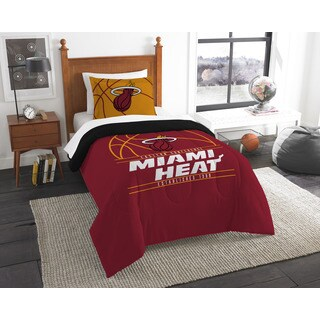 The Northwest Company NBA Miami Heat Reverse Slam Twin 2-piece Comforter Set