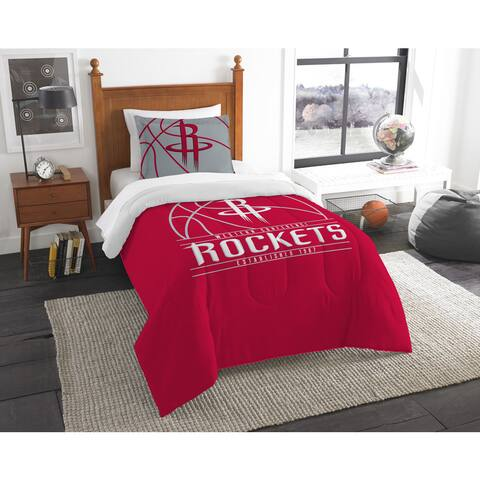 The Northwest Company NBA Houston Rockets Reverse Slam Twin 2-piece Comforter Set