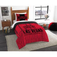 The Northwest Company COL 862 UNLV Modern Take 2-piece Twin Comforter Set