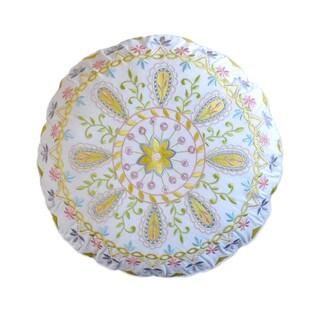 Dena Home Payton Round Decorative Throw Pillow