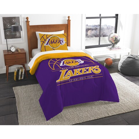 The Northwest Company NBA Los Angeles Lakers Reverse Slam Twin 2-piece Comforter Set