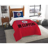 The Northwest Company NBA Los Angeles Clippers Reverse Slam Twin 2-piece Comforter Set