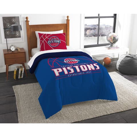 The Northwest Company NBA Detroit Pistons Reverse Slam Twin 2-piece Comforter Set