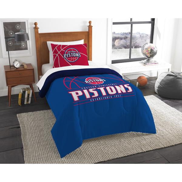 The Northwest Company NBA Detroit Pistons Reverse Slam Twin 2-piece Comforter Set