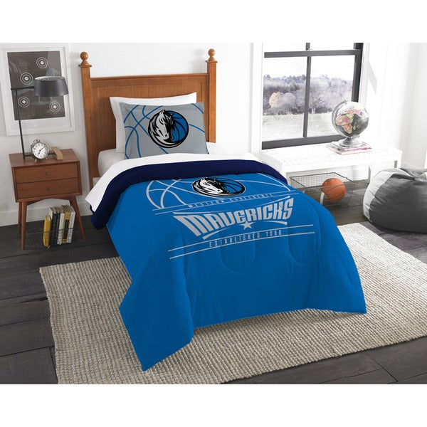 The Northwest Company NBA Dallas Mavericks Reverse Slam Twin 2-piece Comforter Set