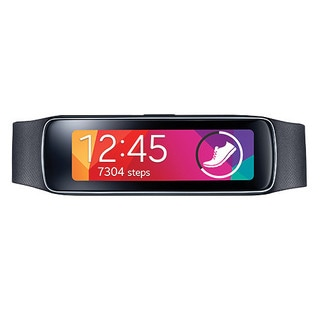 Samsung Gear Fit R350 AT&T Fitness Tracker - Black