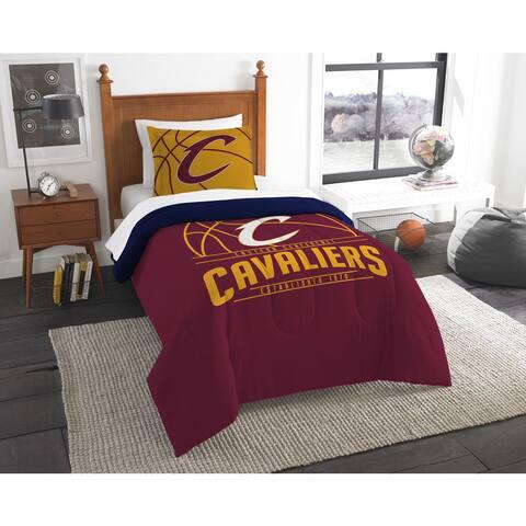 The Northwest Company NBA Cleveland Cavaliers Reverse Slam Twin 2-piece Comforter Set