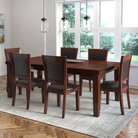 CorLiving 7-Piece Extendable Dining Set