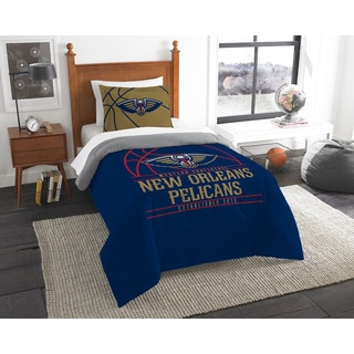 The Northwest Company NBA New Orleans Pelicans Reverse Slam Twin 2-piece Comforter Set