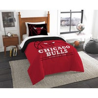 The Northwest Company Nba Chicago Bulls Reverse Slam Twin 2 Piece Comforter Set
