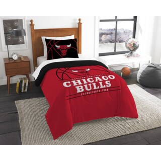The Northwest Company NBA Chicago Bulls Reverse Slam Twin 2-piece Comforter Set