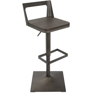 Link to Carbon Loft Goddard Industrial Adjustable Barstool Similar Items in Dining Room & Bar Furniture