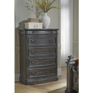 Progressive Terracina Grey Wood Chest