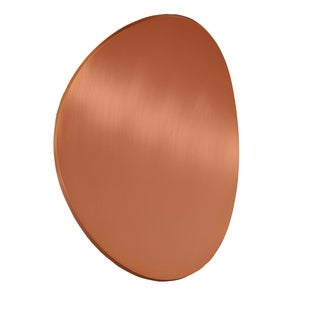 Bruck Lighting Lunaro 1-light Brushed Copper Wall Sconce