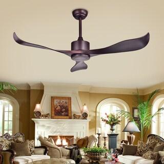 Stodig Espresso ABS 52-inch Ceiling Fan