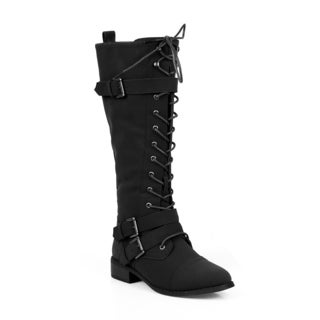 Mark and Maddux Enoch-01 Women's Knee High Boots