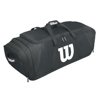 Wilson Team Gear Black Nylon Baseball Bag