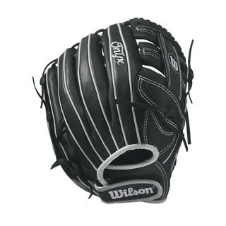 Wilson Onyx Fastpitch Black Leather 11.75-inch Right-handed Softball Infield Glove