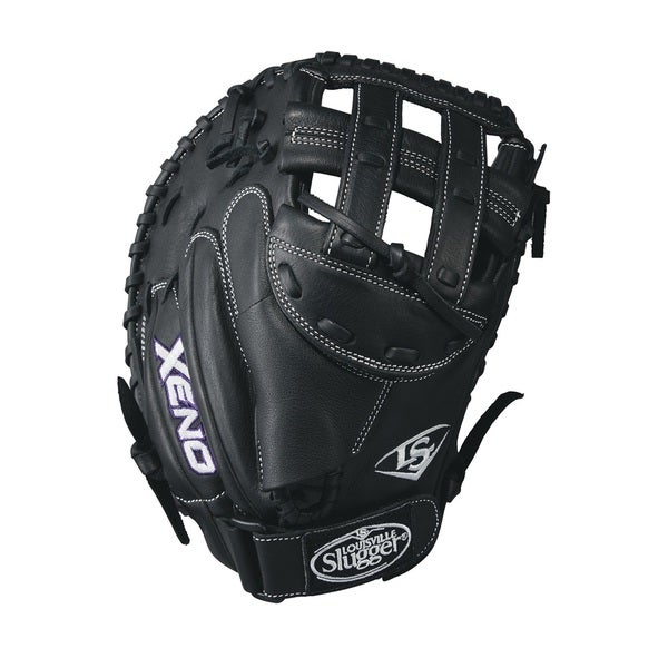 Louisville Slugger Xeno Black Leather 33-inch Catcher FB Righthanded Softball Glove