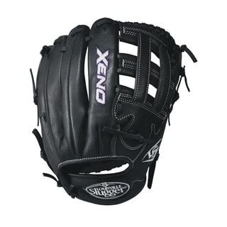 Louisville Slugger Xeno Fastpitch Black Leather Softball Glove