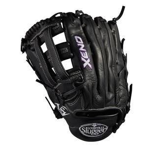 Louisville Slugger Xeno Black Leather 12.5-inch Pitcher FB Softball Glove