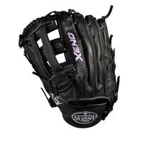 Louisville Slugger Xeno Black Leather 12.5-inch Pitcher FB Softball Glove