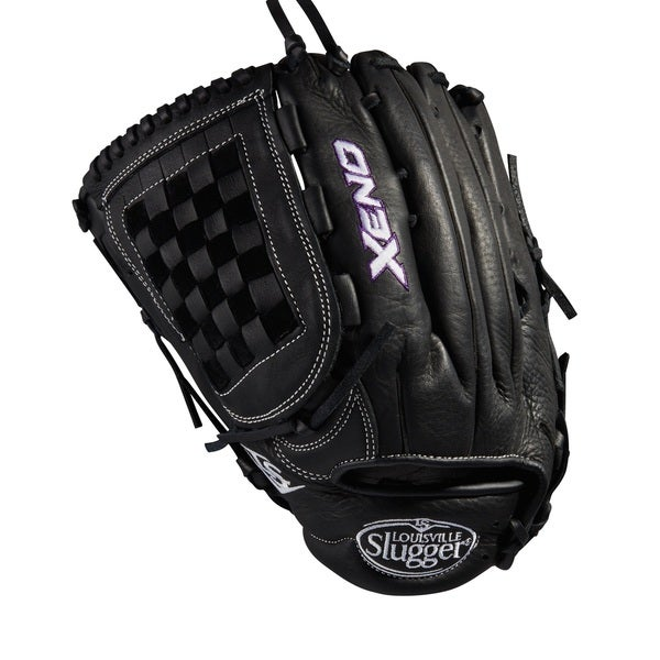 Louisville Slugger Xeno Black Leather 12.75-inch OF FB Softball Glove