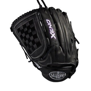 Louisville Slugger Xeno Black Leather 12.75-inch OF FB Softball Glove