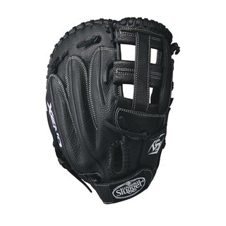 Louisville Slugger Xeno Black Leather 13-inch First Base Softball Glove (2 options available)